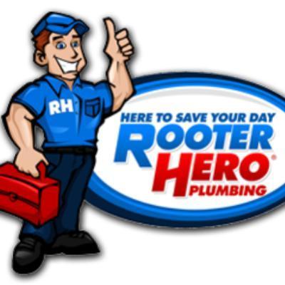 Rooter Hero Plumbing Company Logo